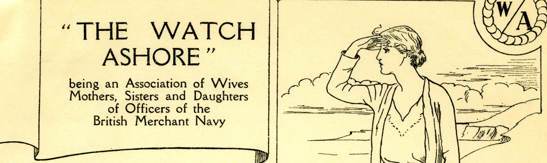 Detail from The Watch Ashore page